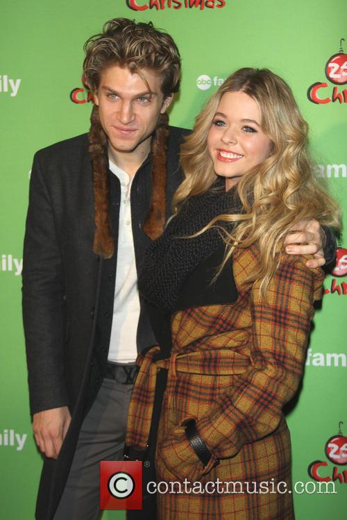 Keegan Allen and Sasha Pieterse 2