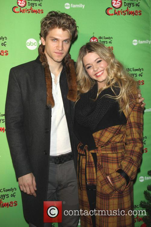 Keegan Allen and Sasha Pieterse 4