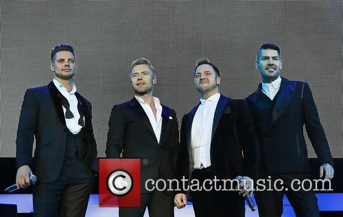 Keith Duffy, Ronan Keating, Mikey Graham and Shane Lynch 3