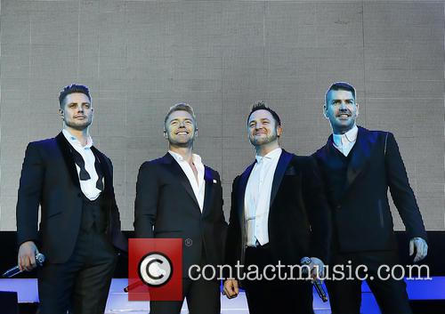 Keith Duffy, Ronan Keating, Mikey Graham and Shane Lynch 9
