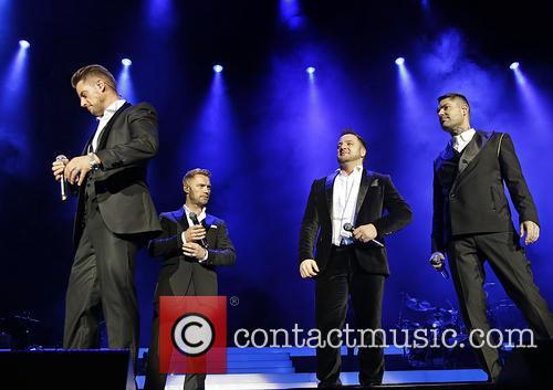 Keith Duffy, Ronan Keating, Mikey Graham and Shane Lynch 7