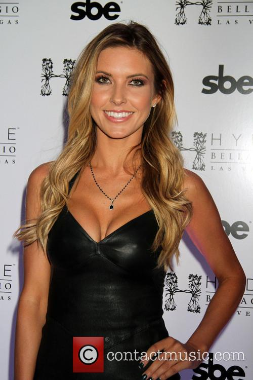 Audrina Patridge Hosts At Hyde Nightclub