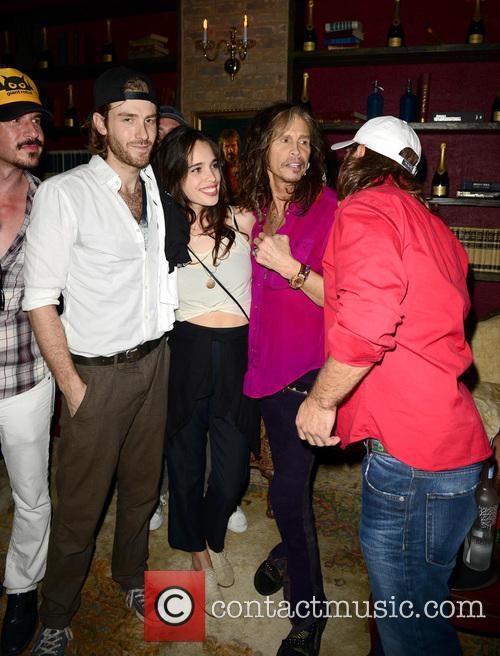 Jon Foster, Chelsea Tyler and Steven Tyler 5