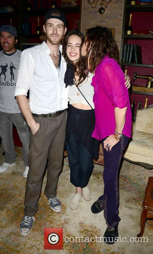 Jon Foster, Chelsea Tyler and Steven Tyler 6