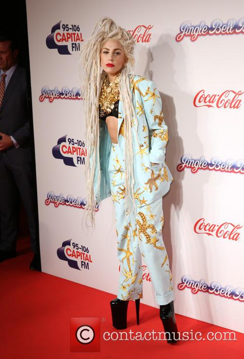 lady gaga capital fm jingle bell ball 3988485