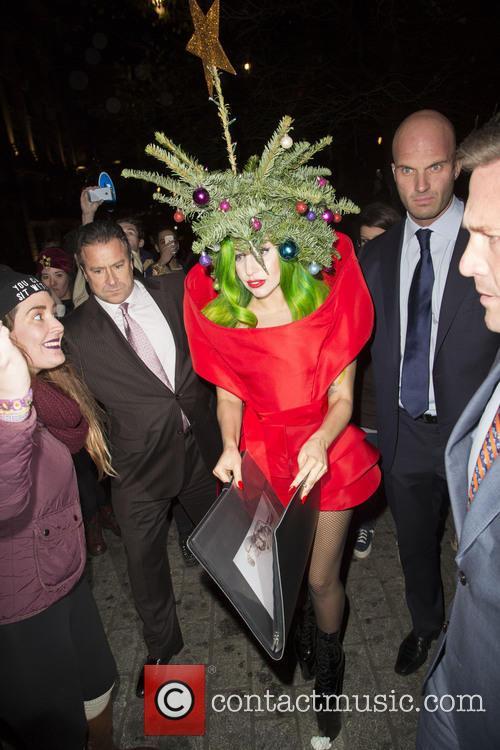 Lady Gaga, Langham Hotel