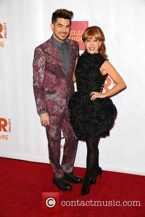 Adam Lambert and Kathy Griffin 2