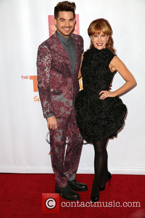 Adam Lambert and Kathy Griffin 3