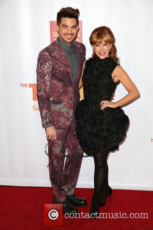 Adam Lambert and Kathy Griffin 5