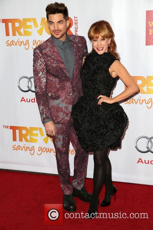 Adam Lambert and Kathy Griffin 6