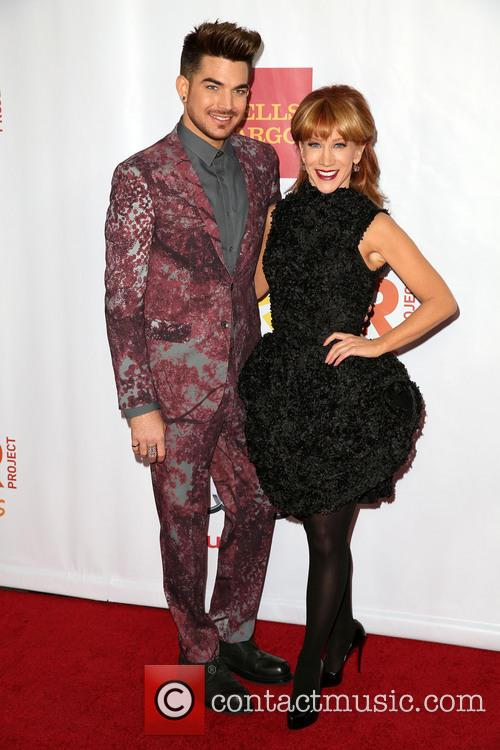 Adam Lambert and Kathy Griffin