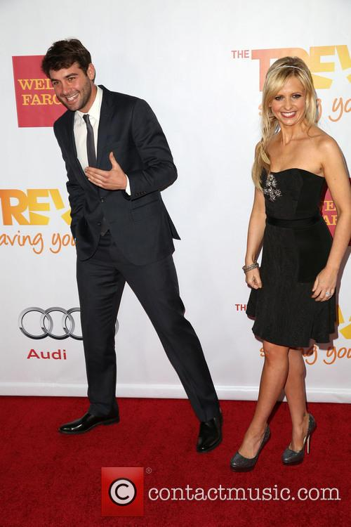 James Wolk and Sarah Michelle Gellar 1