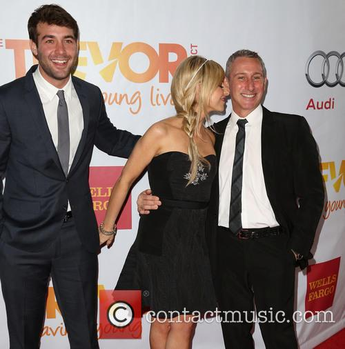 Sarah Michelle Gellar, James Wolk and Adam Shankman 6