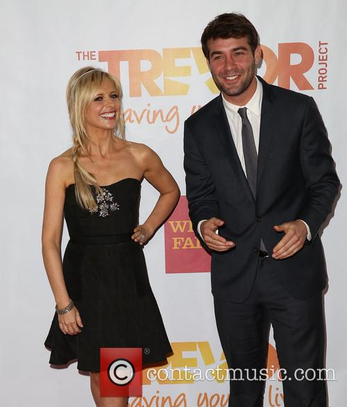 Sarah Michelle Gellar and James Wolk 5