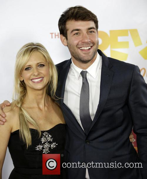 Sarah Michelle Gellar and James Wolk 11