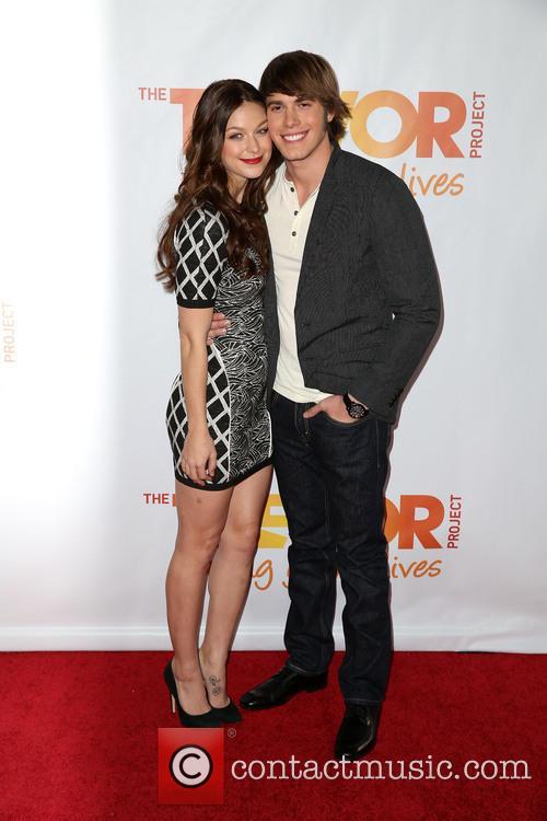 Melissa Benoist and Blake Jenner 6