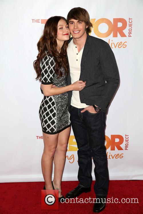 Melissa Benoist and Blake Jenner 1