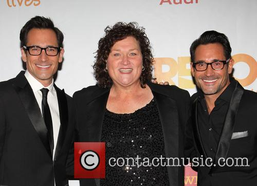Gregory Zarian, Dot-marie Jones and Lawrence Zarian 1