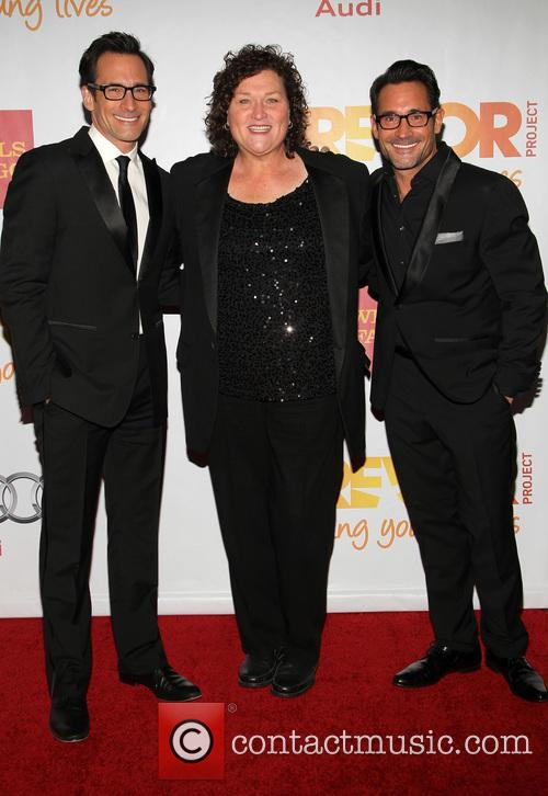 Gregory Zarian, Dot-marie Jones and Lawrence Zarian 2