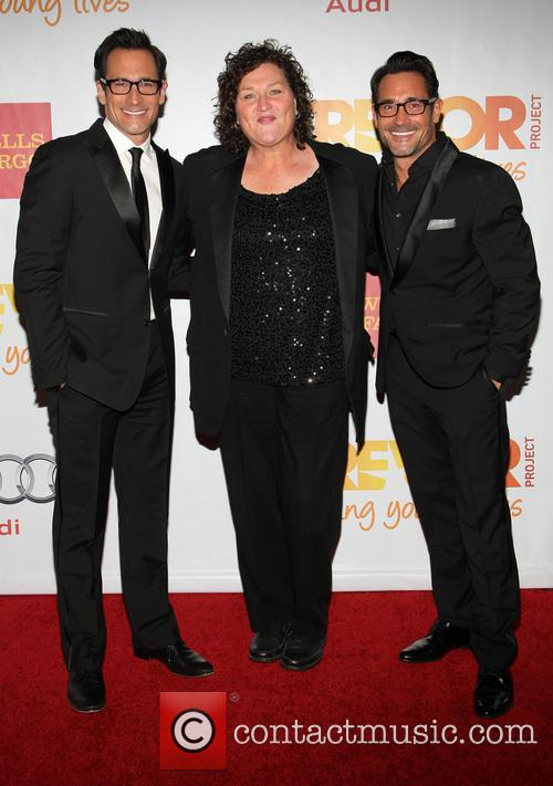 Gregory Zarian, Dot-marie Jones and Lawrence Zarian 6