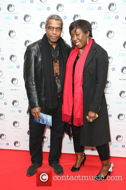 Hugh Quarshie and Chizzy Akudolu