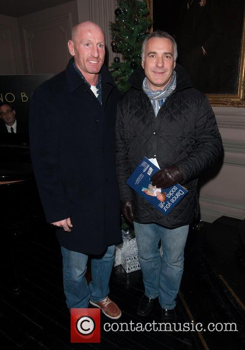 Gareth Thomas and Guest