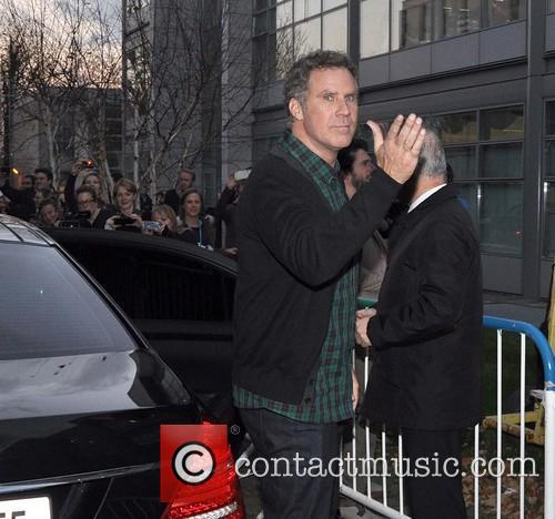will ferrell anchorman 2 at rte studios 3990525