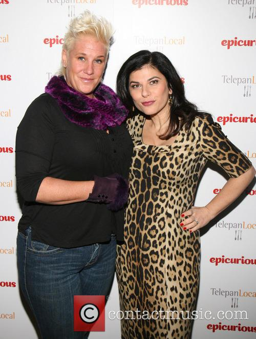 Anne Burrell and Nilou Motamed