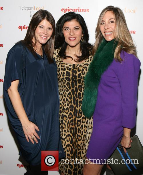 Gail Simmons, Nilou Motamed and Carolyn Kremins 5