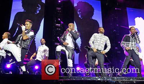 Jb Gill, Ortise Wiliams, Marvin Humes and Aston Merrygold 5