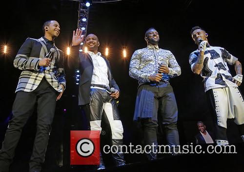 Jb Gill, Ortise Wiliams, Marvin Humes and Aston Merrygold 6
