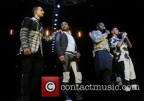 Jb Gill, Ortise Wiliams, Marvin Humes and Aston Merrygold 11