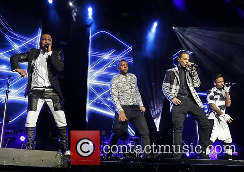 JB Gill, Ortise Wiliams, Marvin Humes and Aston Merrygold 8