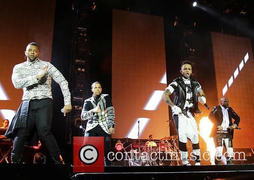 JB Gill, Ortise Wiliams, Marvin Humes and Aston Merrygold 10