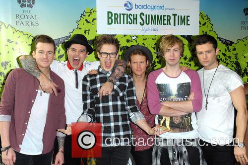Danny Jones, Matt Willis, Tom Fletcher, Dougie Poynter, James Bourne, Harry Judd and Mcbusted 2