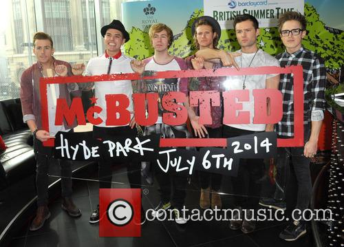 Danny Jones, Matt Willis, Tom Fletcher, Dougie Poynter, James Bourne, Harry Judd and Mcbusted 3