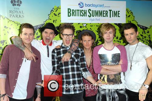 Danny Jones, Matt Willis, Tom Fletcher, Dougie Poynter, James Bourne, Harry Judd and Mcbusted 4