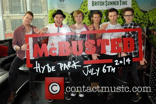 Danny Jones, Matt Willis, Tom Fletcher, Dougie Poynter, James Bourne, Harry Judd and Mcbusted 5