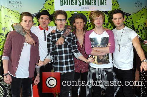 Danny Jones, Matt Willis, Tom Fletcher, Dougie Poynter, James Bourne, Harry Judd and Mcbusted 7