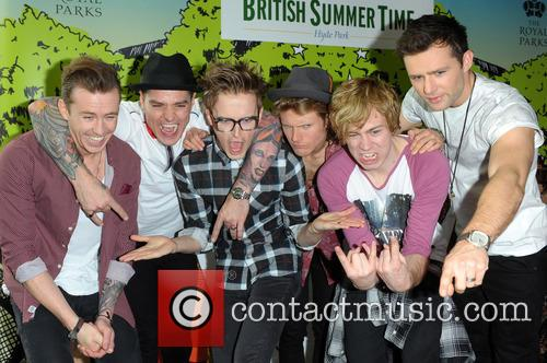 Danny Jones, Matt Willis, Tom Fletcher, Dougie Poynter, James Bourne, Harry Judd and Mcbusted 10
