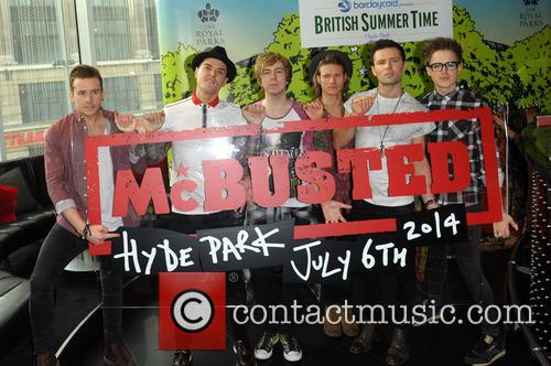 Danny Jones, Matt Willis, Tom Fletcher, Dougie Poynter, James Bourne, Harry Judd and Mcbusted 11