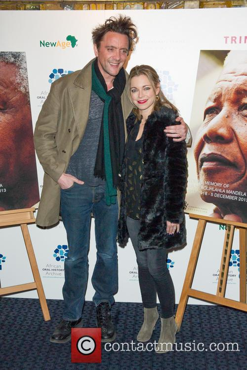 Peter Serafinowicz and Sarah Alexander 1
