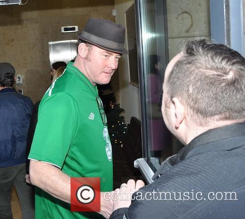 Celebrities at the Today FM studios