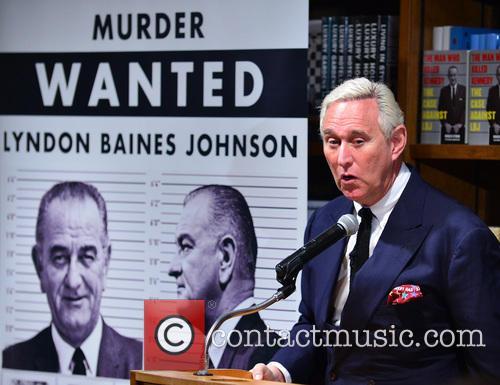 Roger J. Stone Jr. book signing