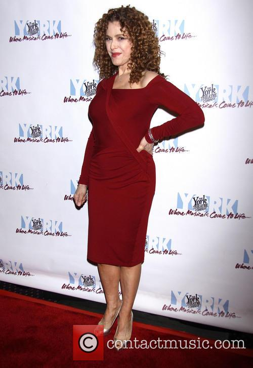 Bernadette Peters and Donna Karan 1
