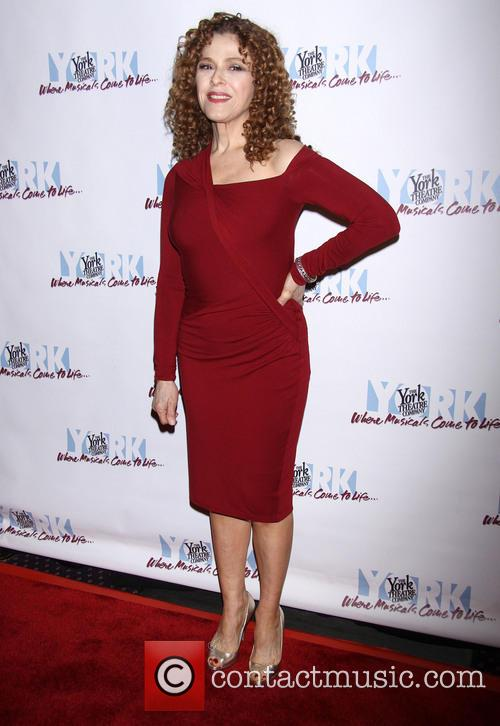 Bernadette Peters and Donna Karan 3