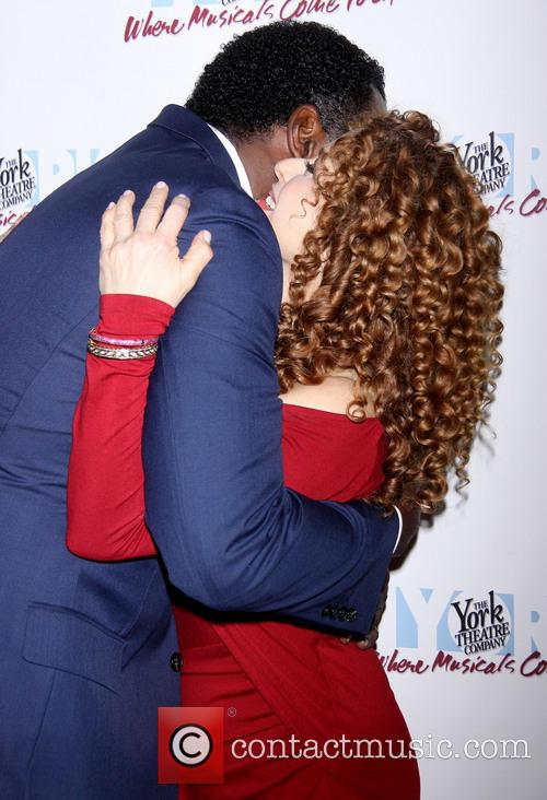 Norm Lewis and Bernadette Peters 2
