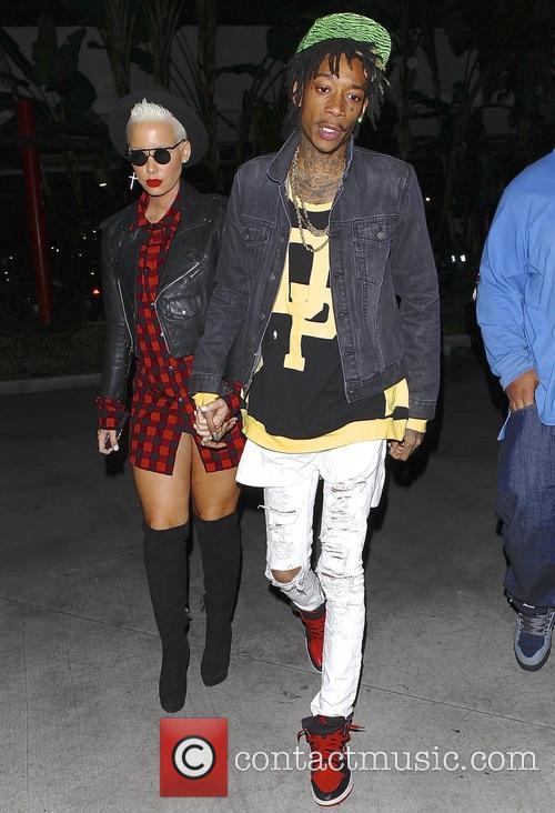 Wiz Khalifa and Amber Rose 4
