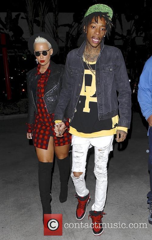 Wiz Khalifa and Amber Rose 5