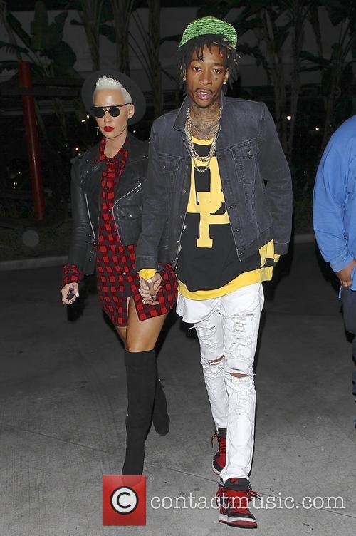 Wiz Khalifa and Amber Rose 6